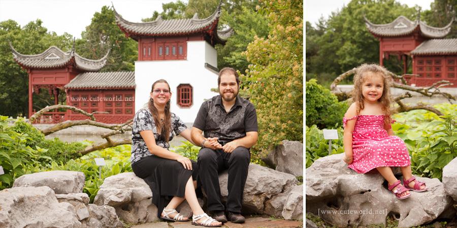 Photographie de famille au jardin botanique cute world for Au jardin de la famille de fabreville