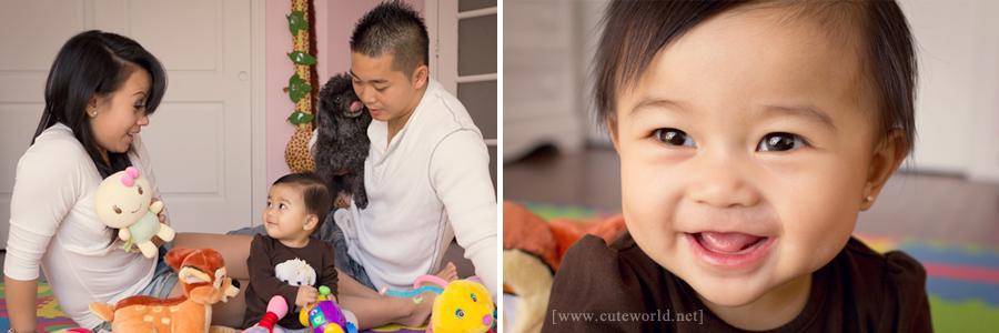 Photographe famille à domicile
