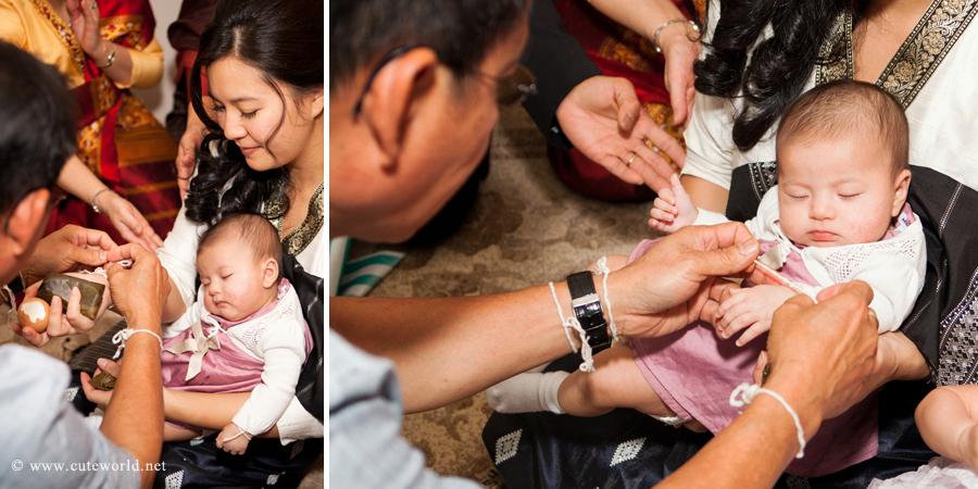 Soukhouane Cérémonie Laotien Baptême