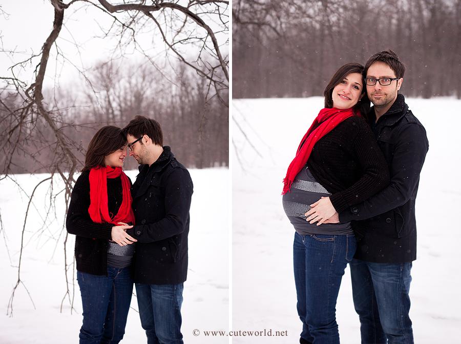 neige-couple-maternite-hiver