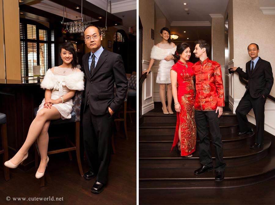 photographe mariage montreal portrait cortege interieur