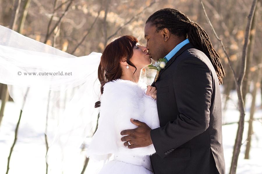 photographe mariage montréal hiver