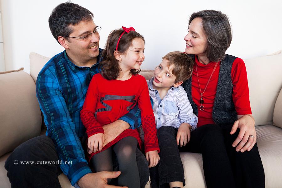 Séance famille à domicile Montréal
