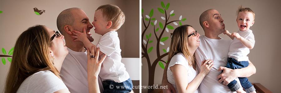 séance de maternité en famille
