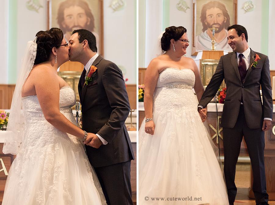 ceremonie-mariage-eglise-baiser