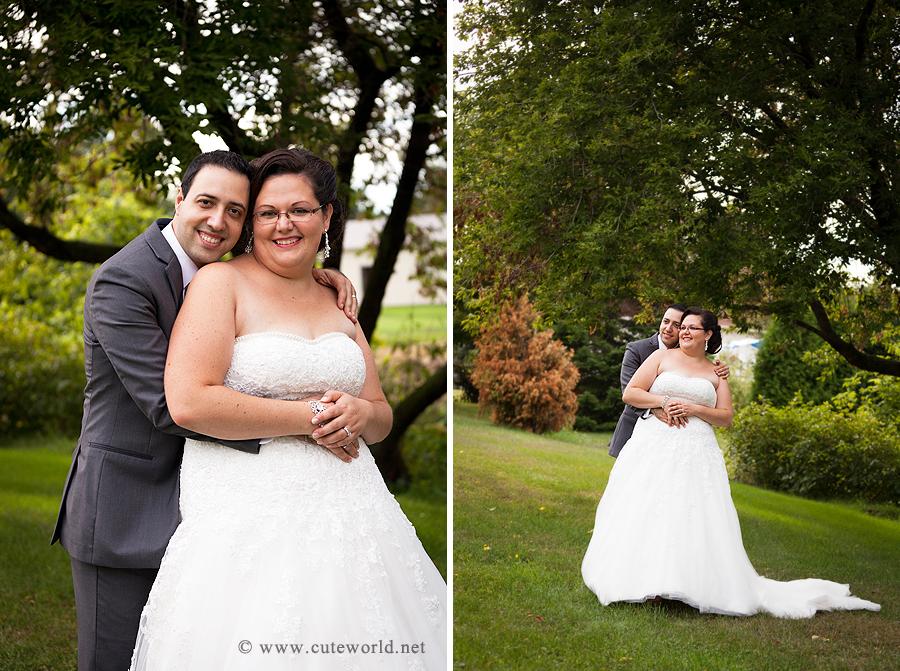 photo mariés heureux