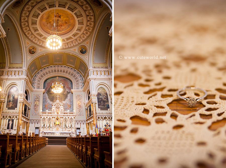 Photographie fiançailles bénédiction église