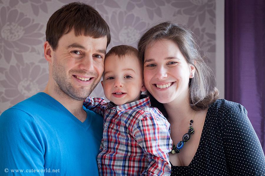 séance photo maternité en famille à domicile