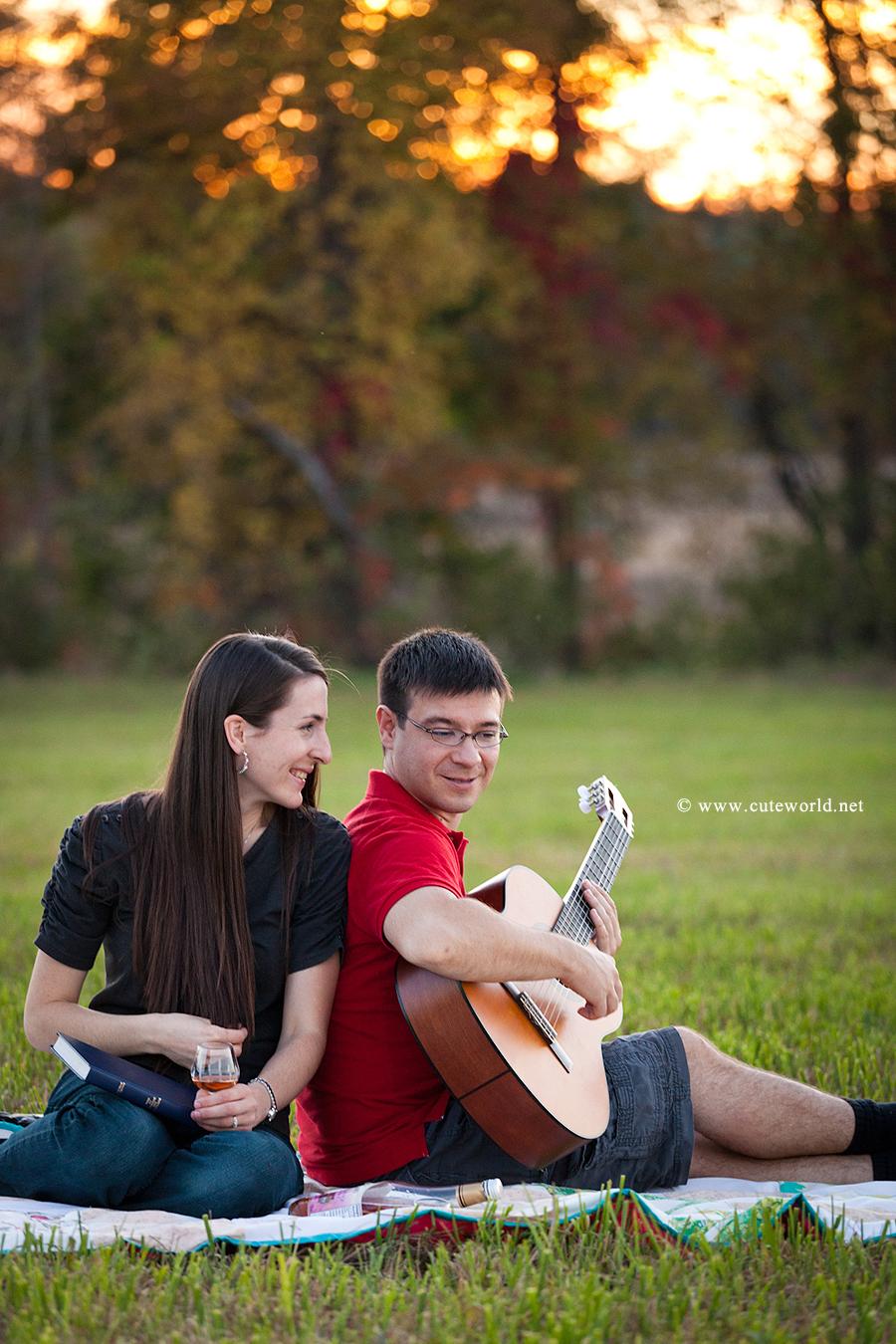 séance couple fiançailles photographie