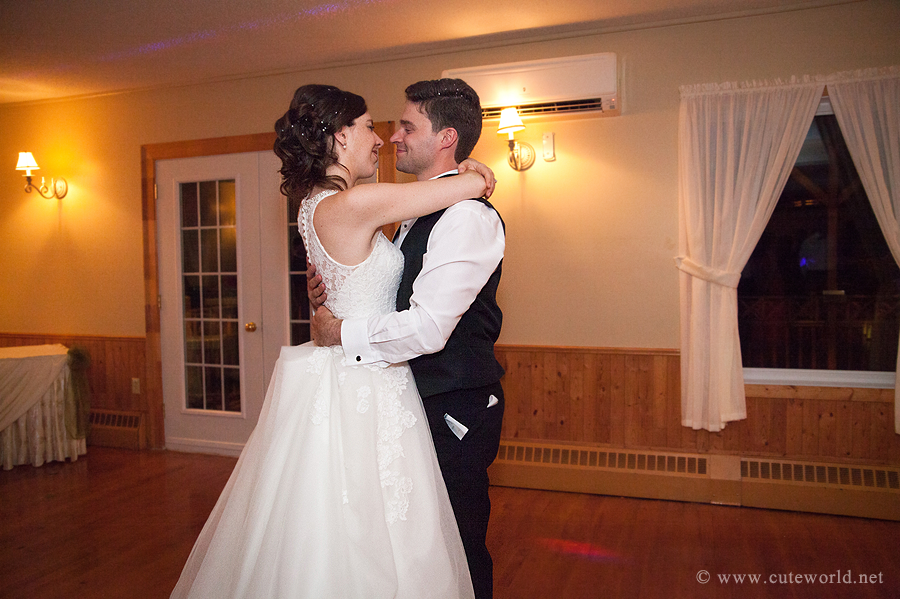 mariage photographie première danse