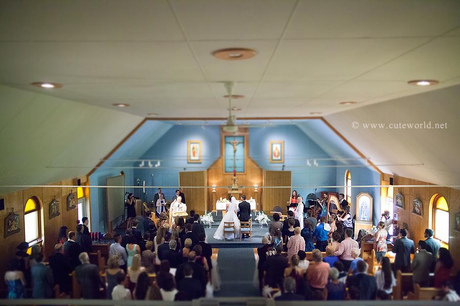 photographe mariage cérémonie à l'église