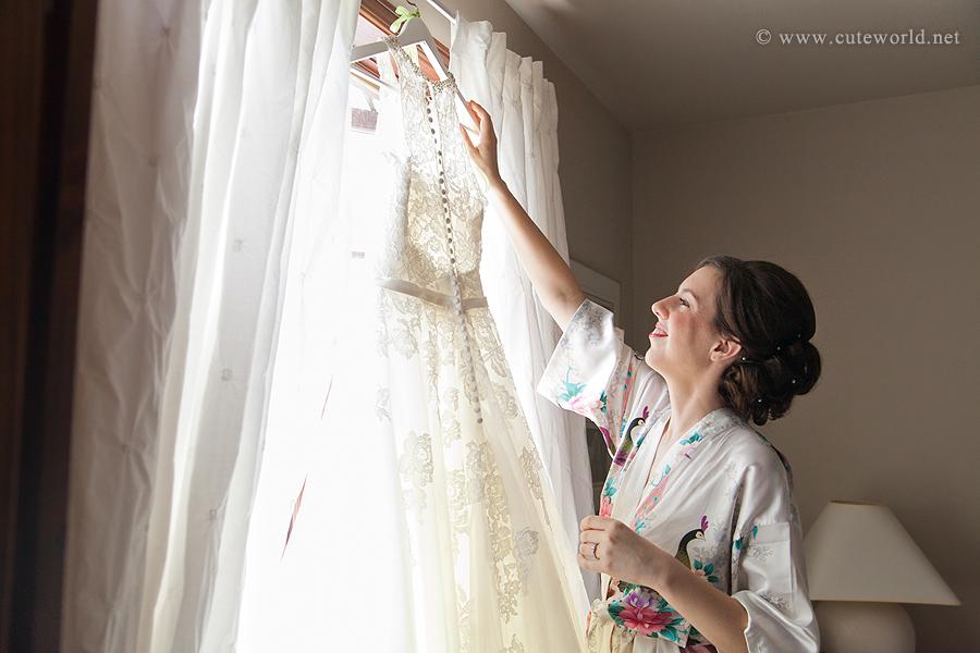 photographie mariage préparation de la mariée