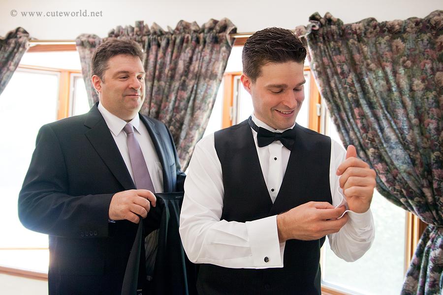 photographie preéparation marié
