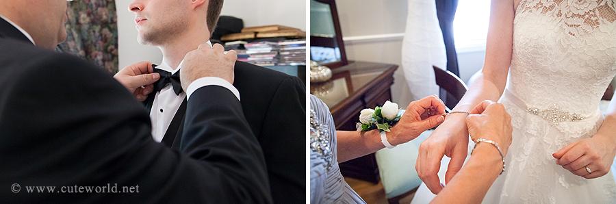 photographie préparation mariés accessoires