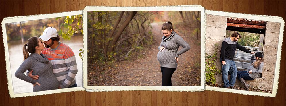 Séance maternité automnale