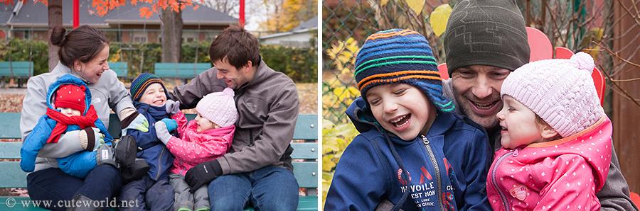 Séance photo de famille à Montréal