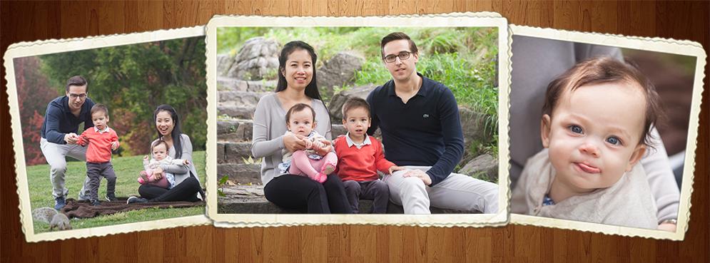 Séance famille au Mont Royal